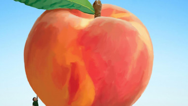 james and peach (Large)