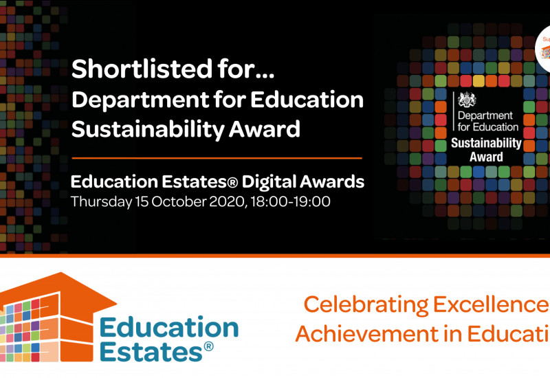Social Media  - Department for Education Sustainability Award